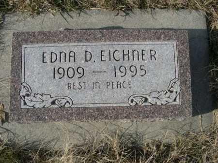 EICHNER, EDNA D. - Douglas County, Nebraska | EDNA D. EICHNER - Nebraska Gravestone Photos