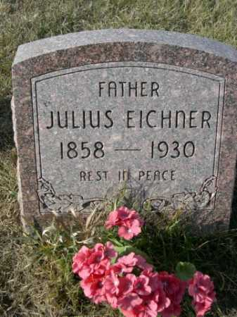EICHNER, JULIUS - Douglas County, Nebraska | JULIUS EICHNER - Nebraska Gravestone Photos