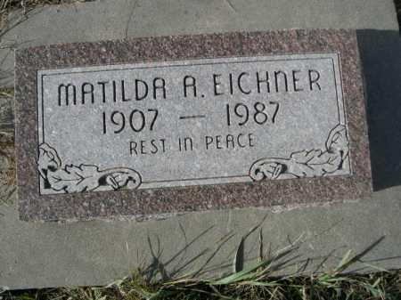 EICHNER, MATILDA A. - Douglas County, Nebraska | MATILDA A. EICHNER - Nebraska Gravestone Photos