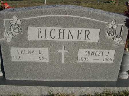 EICHNER, ERNEST J. - Douglas County, Nebraska   ERNEST J. EICHNER - Nebraska Gravestone Photos