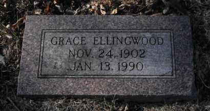 ELLINGWOOD, GRACE - Douglas County, Nebraska | GRACE ELLINGWOOD - Nebraska Gravestone Photos