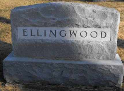 ELLINGWOOD, MONUMENT - Douglas County, Nebraska | MONUMENT ELLINGWOOD - Nebraska Gravestone Photos