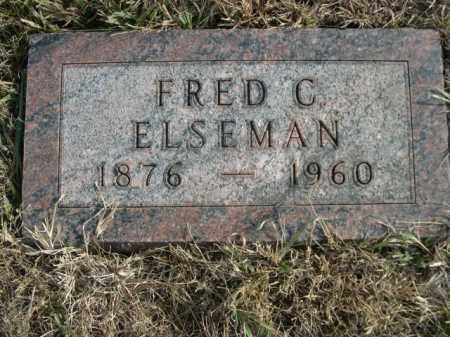 ELSEMAN, FRED C. - Douglas County, Nebraska | FRED C. ELSEMAN - Nebraska Gravestone Photos