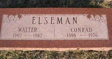 ELSEMAN, WALTER - Douglas County, Nebraska | WALTER ELSEMAN - Nebraska Gravestone Photos