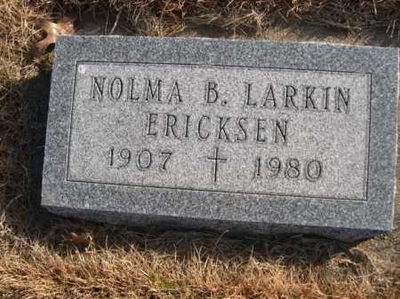ERICKSEN, NOLMA B. LARKIN - Douglas County, Nebraska | NOLMA B. LARKIN ERICKSEN - Nebraska Gravestone Photos
