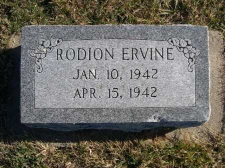 ERVINE, RODION - Douglas County, Nebraska | RODION ERVINE - Nebraska Gravestone Photos