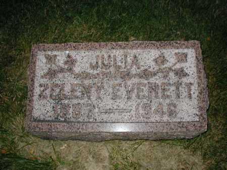 EVERETT, JULIA ANN - Douglas County, Nebraska | JULIA ANN EVERETT - Nebraska Gravestone Photos
