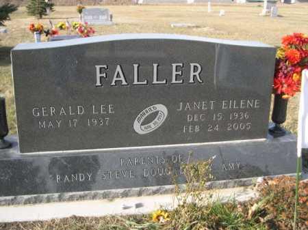 FALLER, GERALD LEE - Douglas County, Nebraska   GERALD LEE FALLER - Nebraska Gravestone Photos