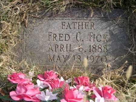 FICK, FRED C. - Douglas County, Nebraska   FRED C. FICK - Nebraska Gravestone Photos