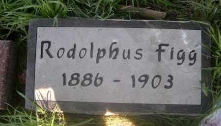 FIGG, RODOLPHUS - Douglas County, Nebraska | RODOLPHUS FIGG - Nebraska Gravestone Photos