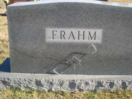 FRAHM, FAMILY - Douglas County, Nebraska   FAMILY FRAHM - Nebraska Gravestone Photos