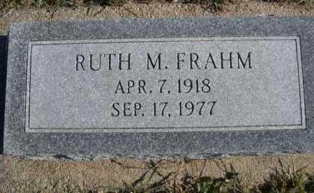 FRAHM, RUTH M. - Douglas County, Nebraska | RUTH M. FRAHM - Nebraska Gravestone Photos