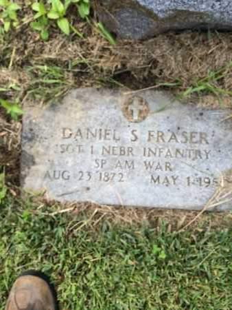 FRASER, DANIEL - Douglas County, Nebraska | DANIEL FRASER - Nebraska Gravestone Photos
