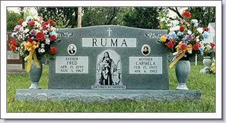 RUMA, CARMELA - Douglas County, Nebraska | CARMELA RUMA - Nebraska Gravestone Photos
