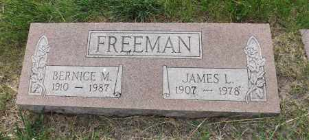 FREEMAN, JAMES L. - Douglas County, Nebraska | JAMES L. FREEMAN - Nebraska Gravestone Photos