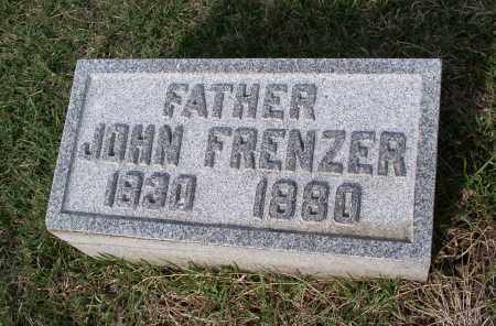 FRENZER, JOHN - Douglas County, Nebraska | JOHN FRENZER - Nebraska Gravestone Photos