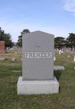 FRENZER, FAMILY - Douglas County, Nebraska | FAMILY FRENZER - Nebraska Gravestone Photos