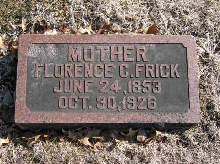 FRICK, FLORENCE C. - Douglas County, Nebraska | FLORENCE C. FRICK - Nebraska Gravestone Photos