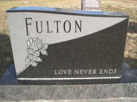 FULTON, FAMILY - Douglas County, Nebraska   FAMILY FULTON - Nebraska Gravestone Photos
