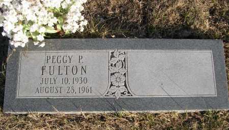 FULTON, PEGGY P. - Douglas County, Nebraska   PEGGY P. FULTON - Nebraska Gravestone Photos