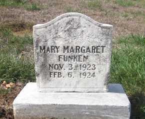 FUNKEN, MARY MARGARET - Douglas County, Nebraska | MARY MARGARET FUNKEN - Nebraska Gravestone Photos