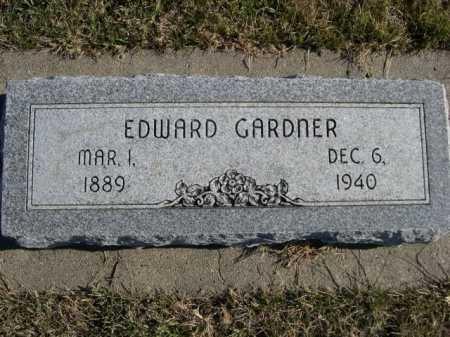 GARDNER, EDWARD - Douglas County, Nebraska | EDWARD GARDNER - Nebraska Gravestone Photos