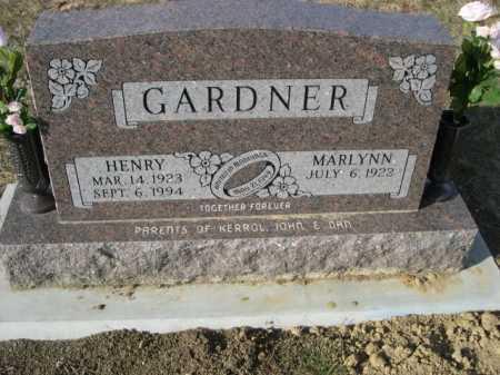 GARDNER, MARLYNN - Douglas County, Nebraska | MARLYNN GARDNER - Nebraska Gravestone Photos