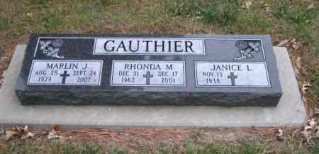 GAUTHIER, RHONDA M. - Douglas County, Nebraska | RHONDA M. GAUTHIER - Nebraska Gravestone Photos