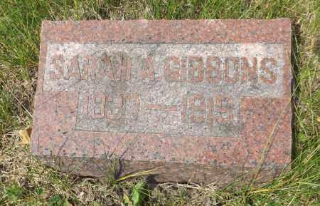 GIBBONS, SARAH A. - Douglas County, Nebraska | SARAH A. GIBBONS - Nebraska Gravestone Photos