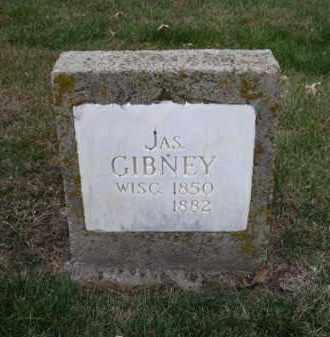 GIBNEY, JAS. - Douglas County, Nebraska | JAS. GIBNEY - Nebraska Gravestone Photos