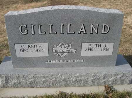 GILLILAND, RUTH J. - Douglas County, Nebraska | RUTH J. GILLILAND - Nebraska Gravestone Photos