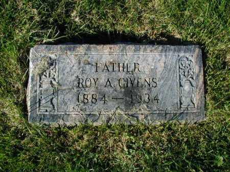 GIVENS, ROY A - Douglas County, Nebraska | ROY A GIVENS - Nebraska Gravestone Photos