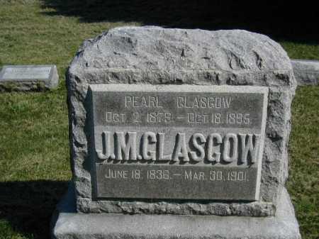GLASGOW, JOHN M - Douglas County, Nebraska | JOHN M GLASGOW - Nebraska Gravestone Photos