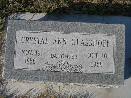 GLASSHOFF, CRYSTAL ANN - Douglas County, Nebraska   CRYSTAL ANN GLASSHOFF - Nebraska Gravestone Photos