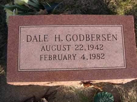 GODBERSEN, DALE H. - Douglas County, Nebraska | DALE H. GODBERSEN - Nebraska Gravestone Photos