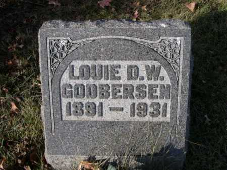 GODBERSEN, LOUIE D. W. - Douglas County, Nebraska | LOUIE D. W. GODBERSEN - Nebraska Gravestone Photos
