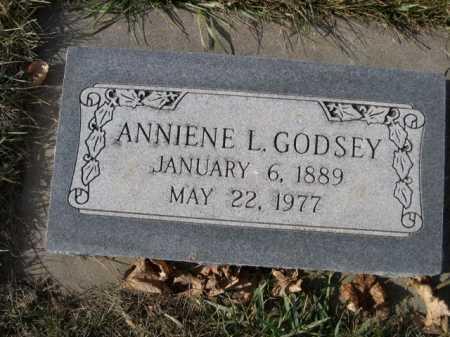 GODSEY, ANNIENE L. - Douglas County, Nebraska | ANNIENE L. GODSEY - Nebraska Gravestone Photos