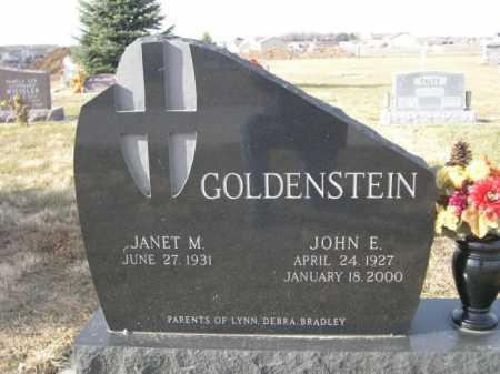 GOLDENSTEIN, JOHN E. - Douglas County, Nebraska   JOHN E. GOLDENSTEIN - Nebraska Gravestone Photos
