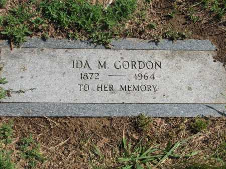 DIXON GORDON, IDA M. - Douglas County, Nebraska | IDA M. DIXON GORDON - Nebraska Gravestone Photos