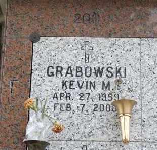 GRABOWSKI, KEVIN M. - Douglas County, Nebraska   KEVIN M. GRABOWSKI - Nebraska Gravestone Photos