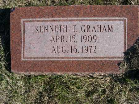 GRAHAM, KENNETH T. - Douglas County, Nebraska   KENNETH T. GRAHAM - Nebraska Gravestone Photos