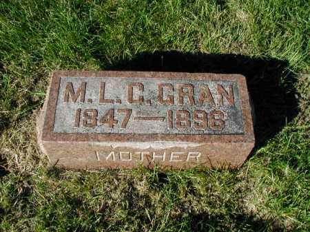 GRAN, MATILDA L C - Douglas County, Nebraska | MATILDA L C GRAN - Nebraska Gravestone Photos
