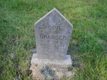GRANGER, ADDIE - Douglas County, Nebraska   ADDIE GRANGER - Nebraska Gravestone Photos
