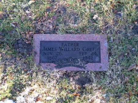 GREEN, JAMES WILLARD - Douglas County, Nebraska | JAMES WILLARD GREEN - Nebraska Gravestone Photos