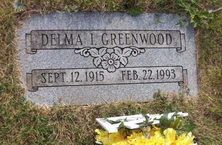 GREENWOOD, DELMA I. - Douglas County, Nebraska   DELMA I. GREENWOOD - Nebraska Gravestone Photos