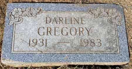 GREGORY, DARLINE - Douglas County, Nebraska | DARLINE GREGORY - Nebraska Gravestone Photos