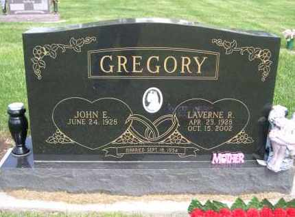 GREGORY, LAVERNE R. - Douglas County, Nebraska | LAVERNE R. GREGORY - Nebraska Gravestone Photos