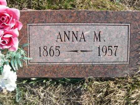 GRELL, ANNA M. - Douglas County, Nebraska | ANNA M. GRELL - Nebraska Gravestone Photos