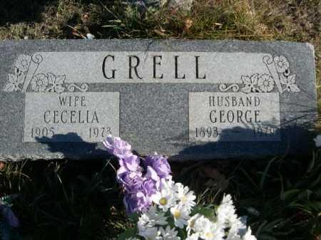 GRELL, CECELIA - Douglas County, Nebraska | CECELIA GRELL - Nebraska Gravestone Photos