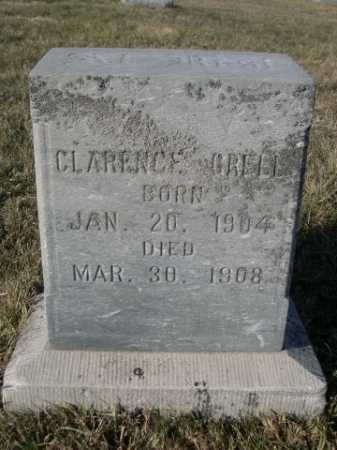 GRELL, CLARENCE - Douglas County, Nebraska | CLARENCE GRELL - Nebraska Gravestone Photos